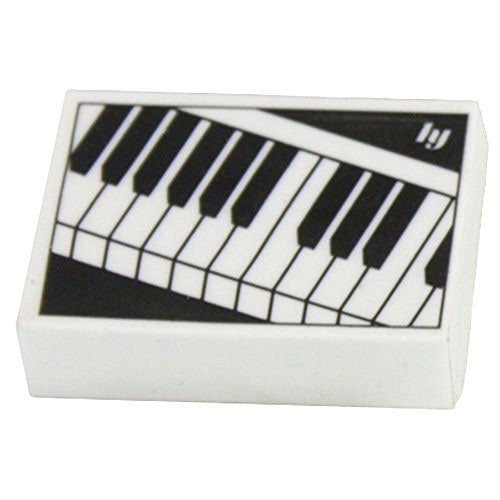 HYA007 - Eraser with musical keyboard design Default title