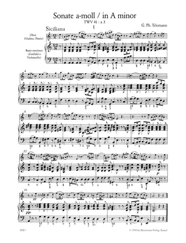 HM7 - Telemann Sonatas and Pieces (From Der Getreue Musikmeister) Default title