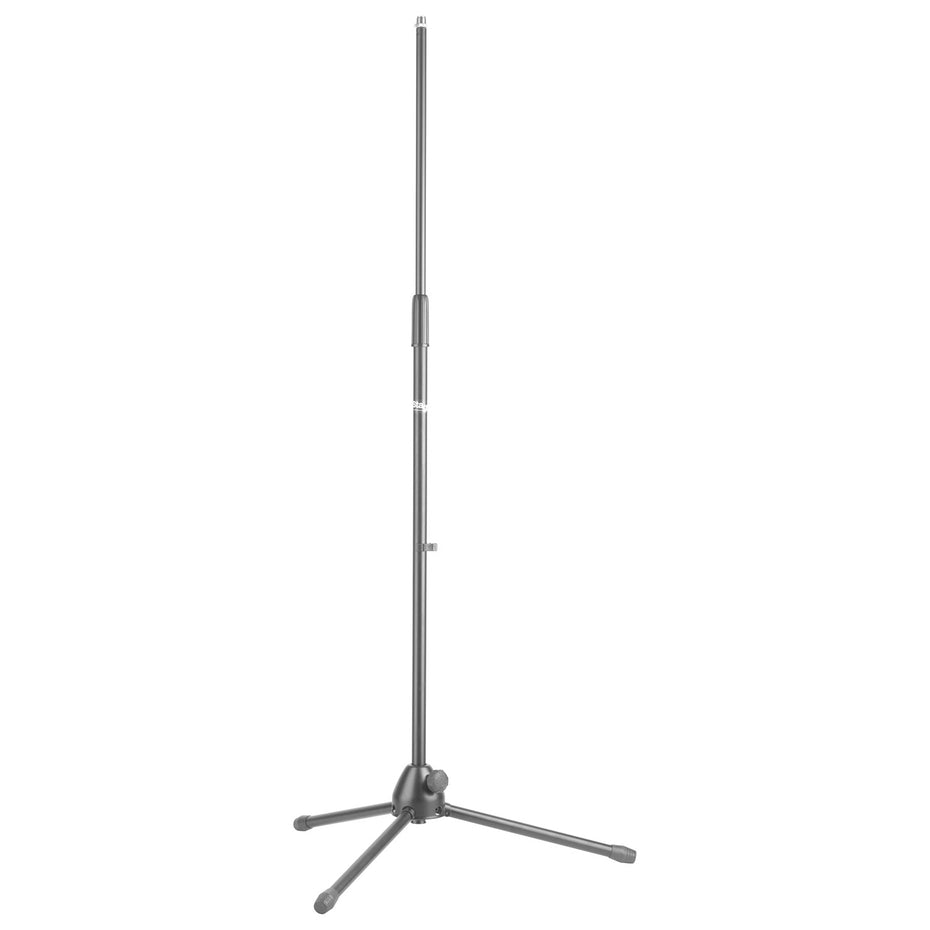 MIS-1020BK - Stagg straight microphone stand with tripod base Default title