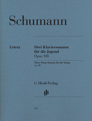 HN155 - Schumann Three Piano Sonatas for the Young Op. 118 Default title