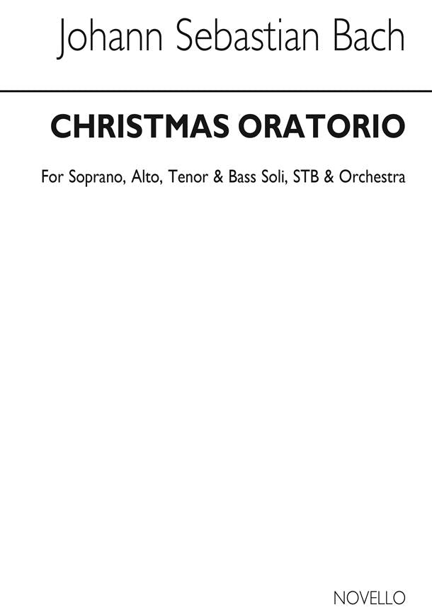 NOV070040 - Christmas Oratorio Vocal Score Default title