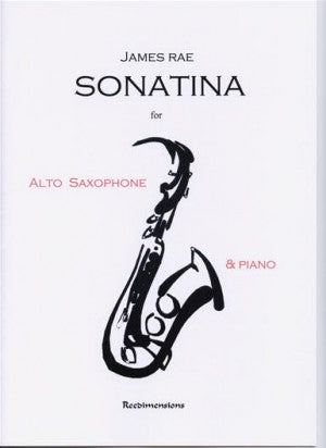 RD002 - Sonatina for Alto Saxophone & Piano Default title