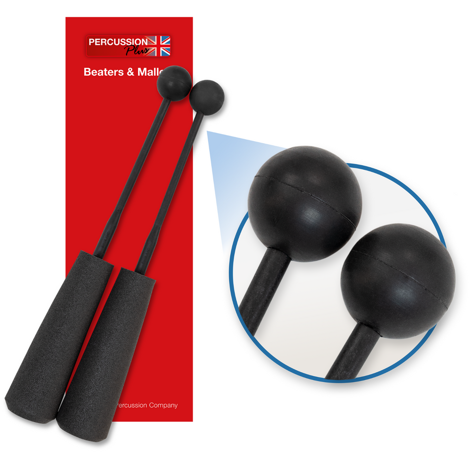 PP756 - Percussion Plus PP756 Easy Grip soft rubber beaters Default title