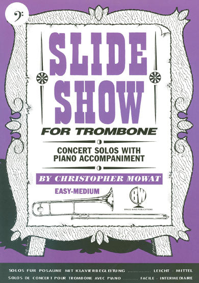 BW0122BCD - Slide Show for Trombone - Bass Clef - Book and CD Default title