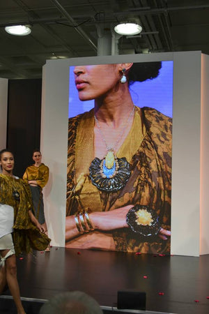 BONDAROWSKI  AT IJL 2018 JEWELLERY TRENDS CATWALK