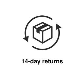 14 day returns in Silver Chamber Online Store