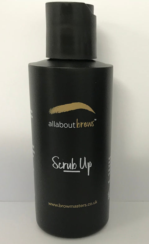 All About Brows - Scrub Up