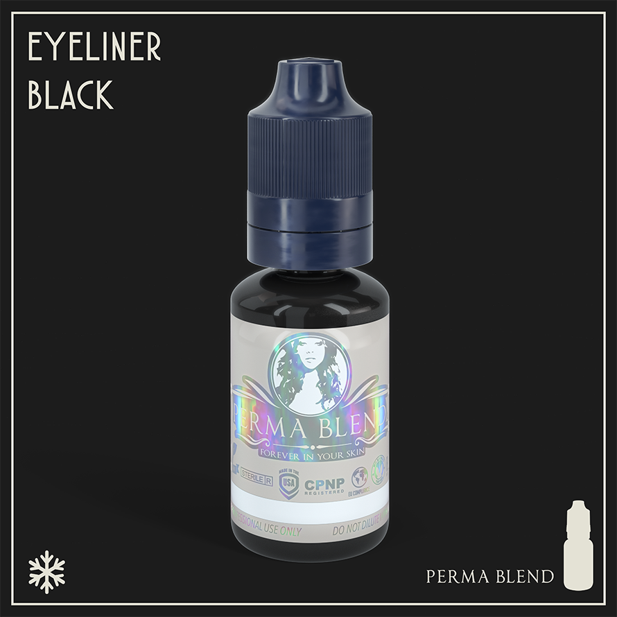 Perma Blend Eyeliner Black 15ml