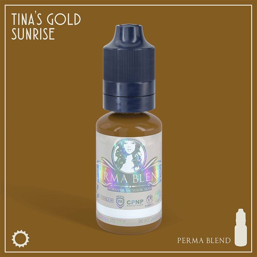 Perma Blend Tina's Gold Sunrise 15ml