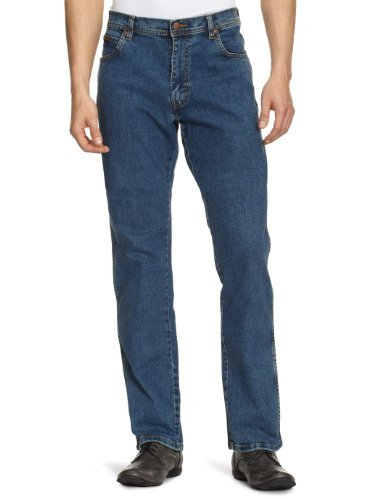 Wrangler Texas STRETCH jeans Stonewash mens All Sizes
