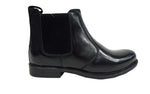 Men's Thomas Catesby Chelsea Leather Formal Lace up Mid Shoes Boots Black