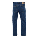 Mens Kam Jeans KBS150-01 Regular Fit Jeans Stonewash Size 40 To 60