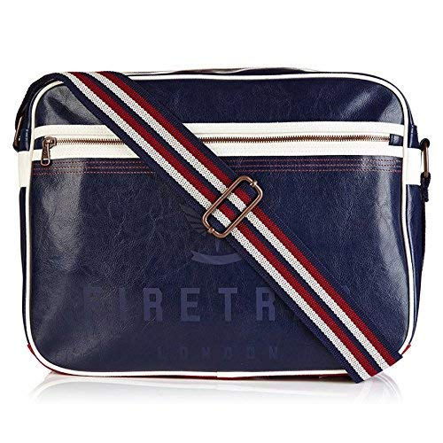 Firetrap Flight Bag/Satchel - Navy/Red