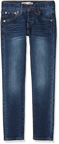 Levis 501 Boys NM22427 Skinny Fit Skinny Leg Jeans Blue
