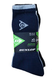 Mens Dunlop Sport Socks Fully Cushioned Sport Socks 5 Pack Size 6-11
