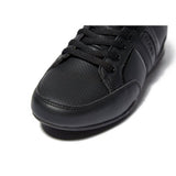 Boys Deakins Norma Leather Lace Up School Shoes Trainers Black