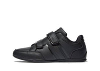 Boys Deakins Norma Leather Strap School Shoes Trainers Black