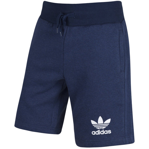 Adidas Mens Sport Ess Fleece Shorts Navy
