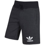 Adidas Mens Sport Ess Fleece Shorts Charcoal