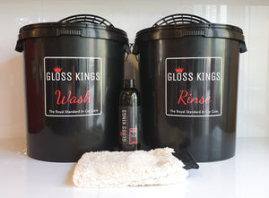 Gloss Kings 2 Bucket Safe Wash Kit - GlossKings