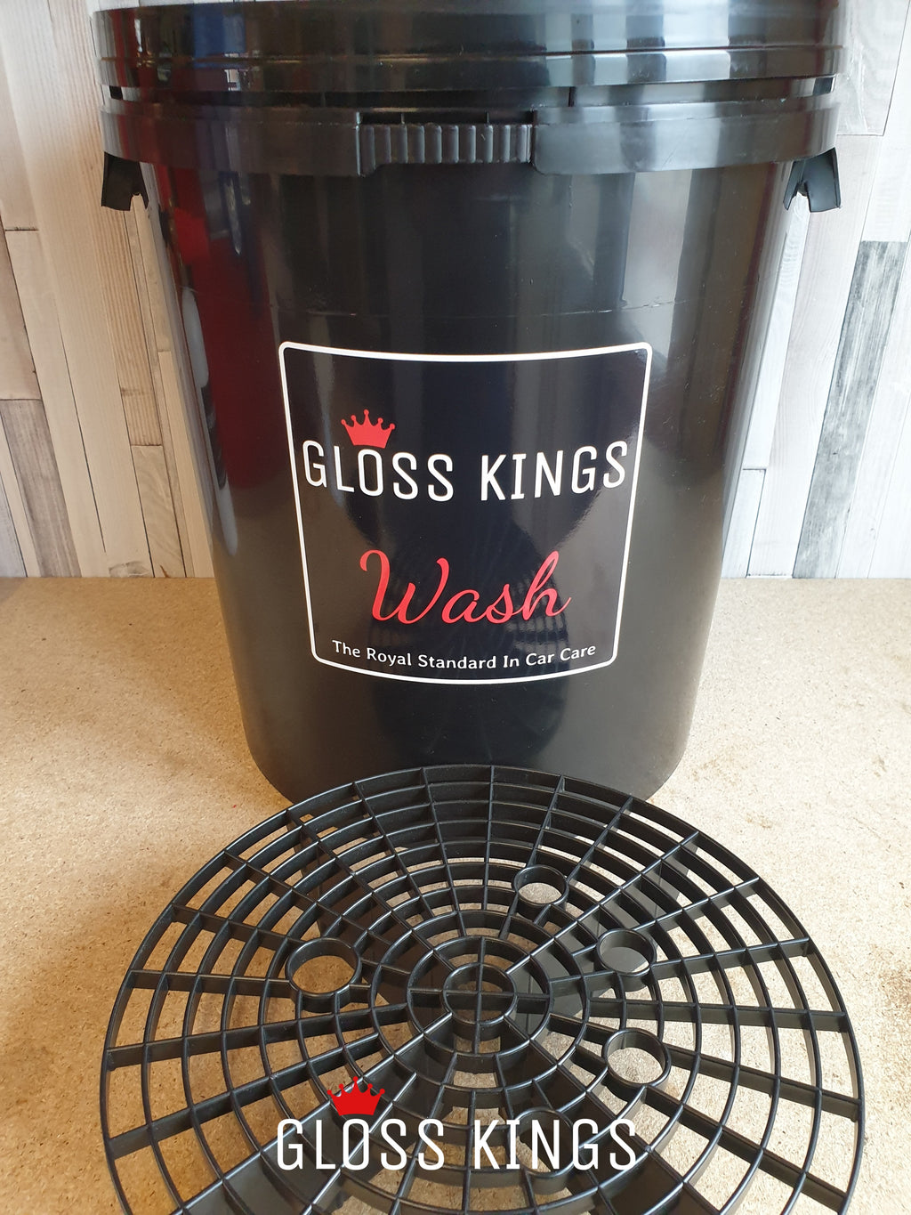 Gloss Kings Bucket with Grit guard - GlossKings