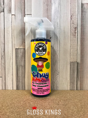 Chemical Guys - Chuy Bubblegum Premium Air Freshener & Odour Eliminator 16 oz - GlossKings
