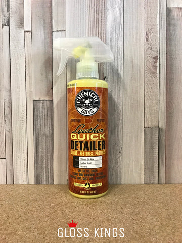 Chemical Guys - Leather Quick Detailer Matte Finish 16 oz - GlossKings