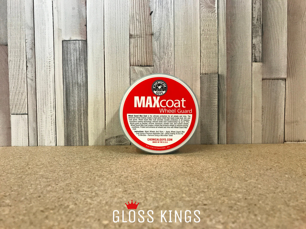 Chemical Guys - Wheel Guard Max Coat Rim & Wheel Sealant 8 oz - GlossKings