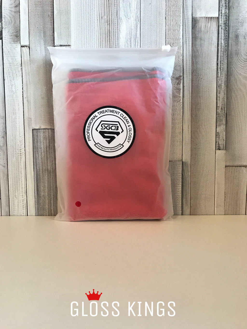 Gloss Kings - SGCB Standard Micro Fibre Cloth 40 x 40 (red) - GlossKings
