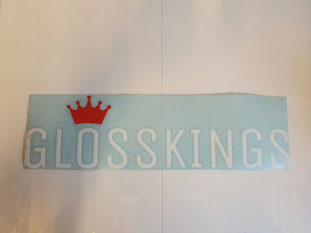 Gloss Kings Vinyl Windscreen Decal - GlossKings