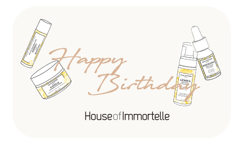eGift Card - House of Immortelle Natural Skincare