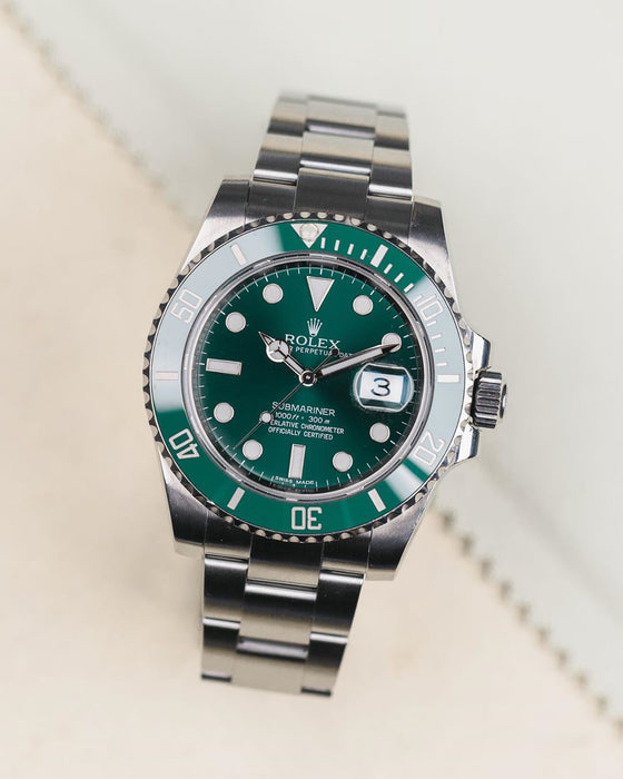 Win a ROLEX SUBMARINER 'HULK'
