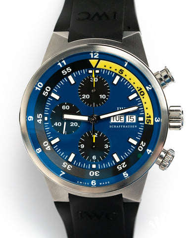 IWC Aquatimer Chronograph 'Tribute to Calypso' Limited Edition