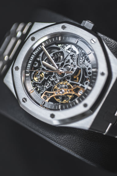 AUDEMARS PIGUET ROYAL OAK DOUBLE BALANCED SKELETON Belfast watches