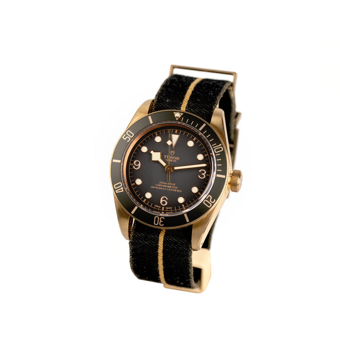 Tudor Black Bay Bronze, Nato