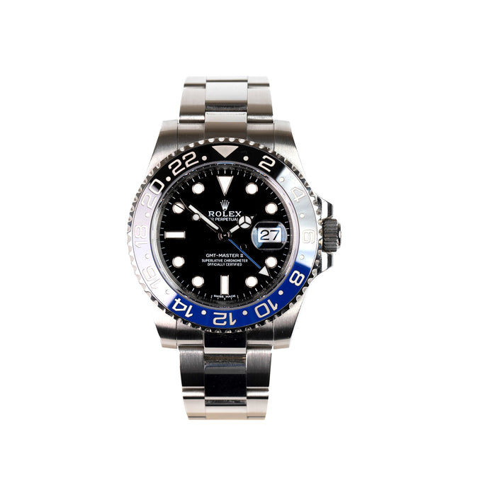 GMT Master II Rolex Batman 2016 Belfast watches