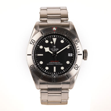 Tudor Black Bay gorgeous watch steel