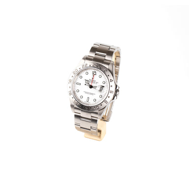 Rolex, explorer, 40mm Steel case, white dial, Polar Dial