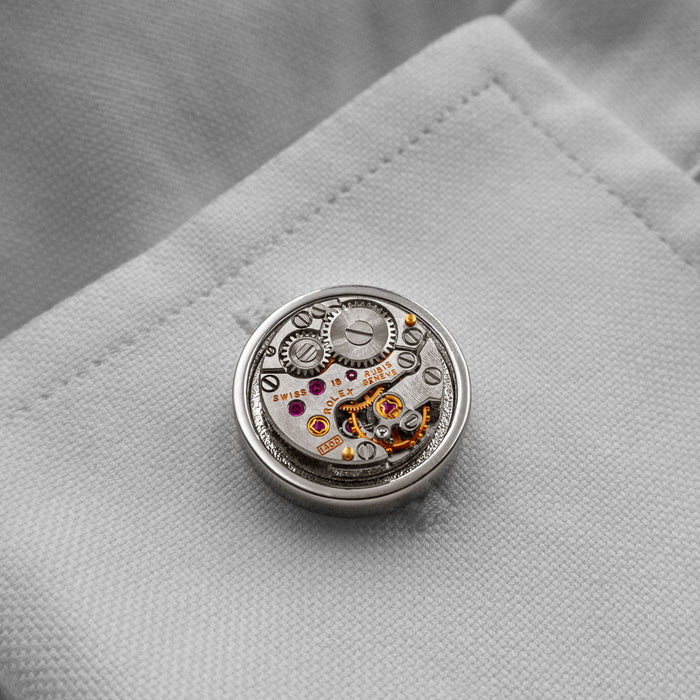 Rolex Watch Cufflinks Precision
