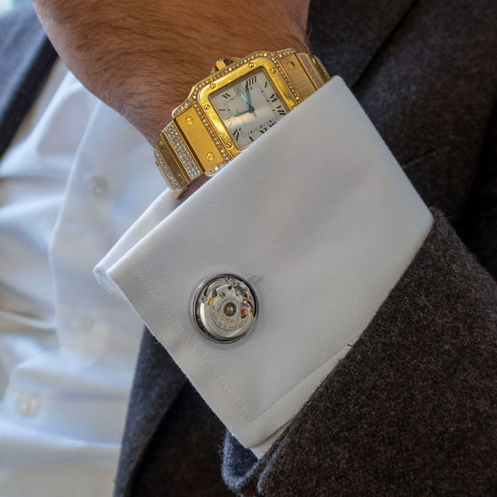 Cartier Automatic Watch Cufflinks