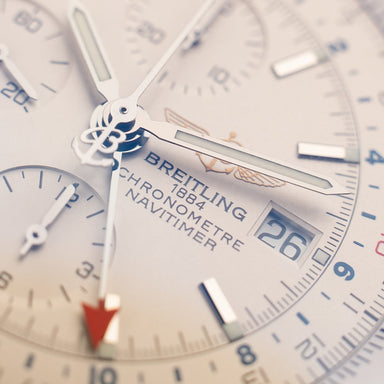 Breitling Navitimer Belfast watches pride and pinion