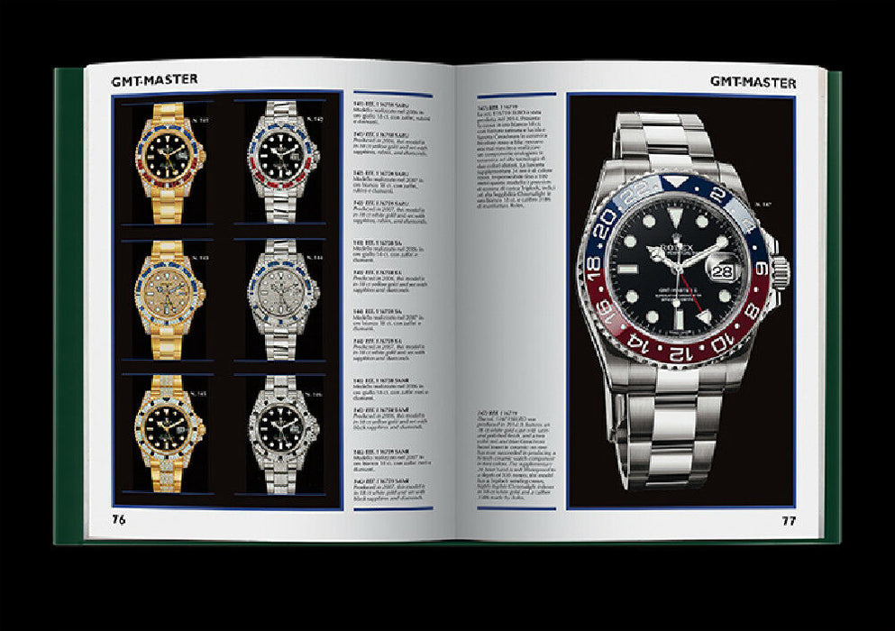 """ROLEX GMT-MASTER"" Rolex Book by Guido Mondani watch collector"