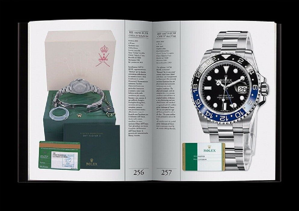 """ROLEX GMT-MASTER"" Rolex Book by Guido Mondani"