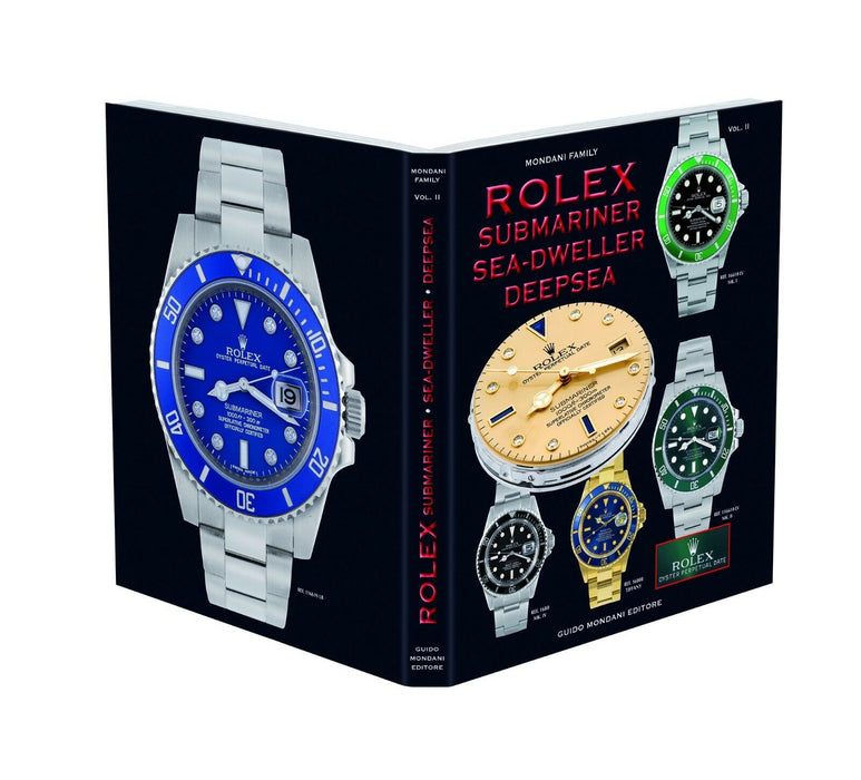 """Rolex Submariner Sea-Dweller Deepsea"" Rolex Book by Guido Mondani"