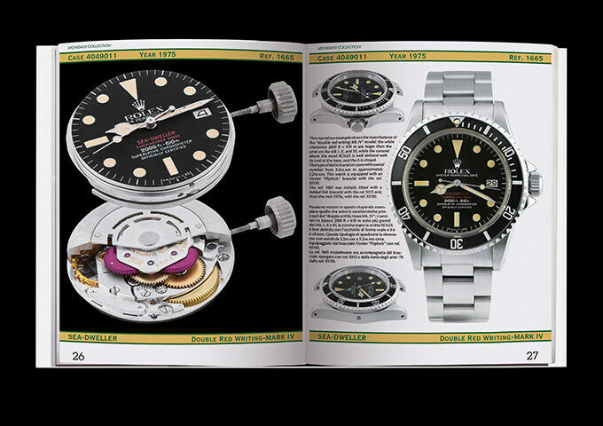 Rolex sea dweller Deepsea submariner  Rolex Book by Mondani Rolex collector