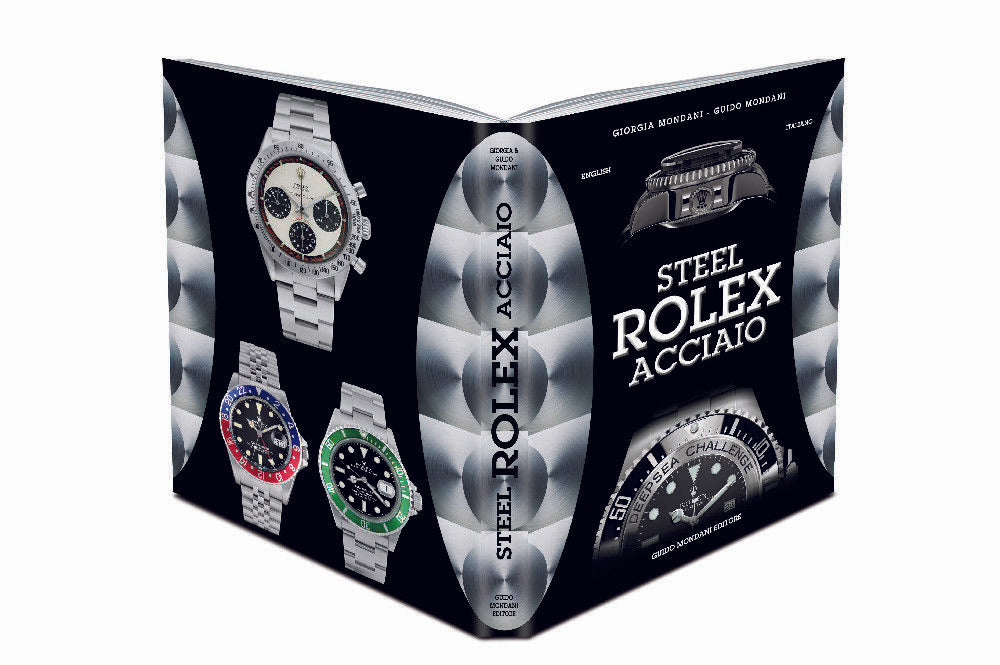 """Steel Rolex"" Rolex Book by Mondani Rolex Collector"