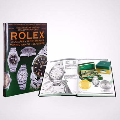 """Rolex Milgauss, Explorer I, Explorer II, Turn-O-Graph and Yacht-Master"" Rolex Book by Mondani"