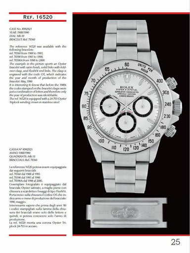 """DAYTONA SELF-WINDING"" Rolex book by Mondani"