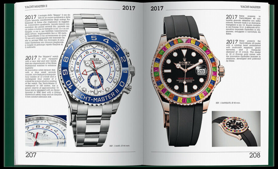 """Rolex Encyclopedia"" Rolex Book by Mondani Books"