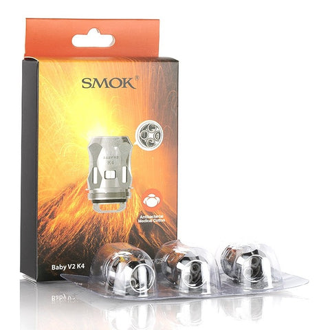SMOK TFV8 Baby V2 Replacement Coils S1-S2-A1-A2-A3 - Vaping 101 UK's Number 1